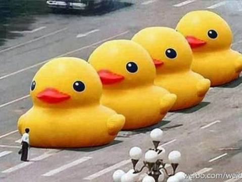 3179_big-yellow-duck-tank-man-tiananmen-square